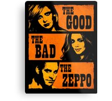 The Good The Bad The Zeppo Metal Print