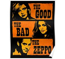 The Good The Bad The Zeppo Poster