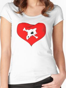 cubone loves mommy Women's Fitted Scoop T-Shirt