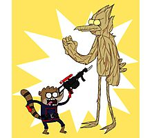 Rocket Rigby and Mordegroot Photographic Print