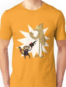 Rocket Rigby and Mordegroot Unisex T-Shirt