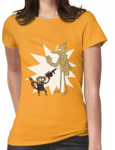 Rocket Rigby and Mordegroot Womens Fitted T-Shirt