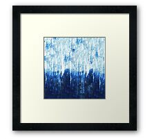 abstract shower Framed Print