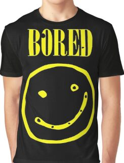 Bored  Graphic T-Shirt