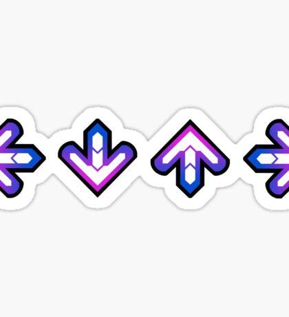 DDR: Arrows Sticker