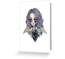 Weeping angel: poison Greeting Card