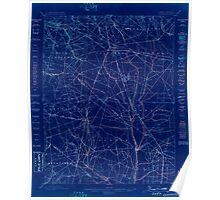 USGS TOPO Map New Jersey NJ Glassboro 255176 1898 62500 Inverted Poster