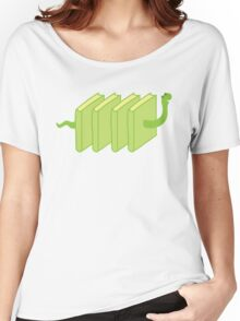 a single solitary bookworm Women's Relaxed Fit T-Shirt