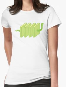 a single solitary bookworm Womens Fitted T-Shirt