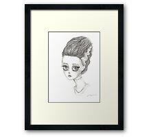 Frankenstein's bride  Framed Print