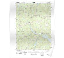 USGS TOPO Map Rhode Island RI Clayville 20120518 TM Poster
