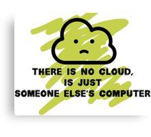 Cloud truth Canvas Print