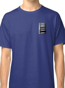 Old piano keys close up Classic T-Shirt