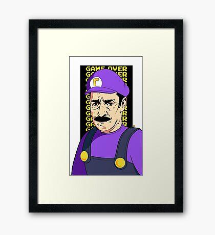 You Lose #3 Videla Framed Print