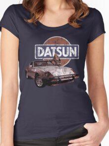 Vintage Datsun 280zx Women's Fitted Scoop T-Shirt