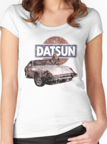 Vintage Datsun 280zx Women's Fitted Scoop T-Shirt