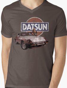 Vintage Datsun 280zx Mens V-Neck T-Shirt