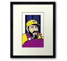 You Lose #2 Fidel Framed Print