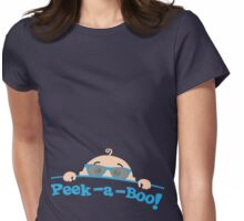Peek a Boo! Womens Fitted T-Shirt
