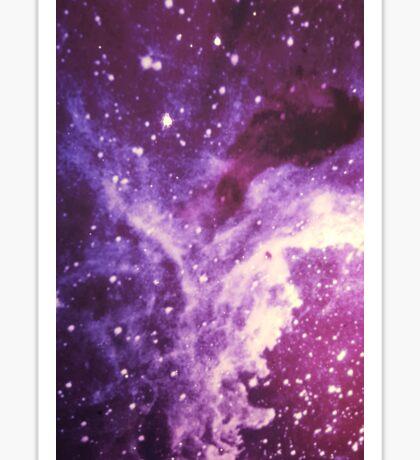 Purple Galaxy 2 Sticker