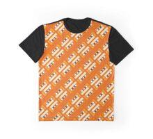 Orange Cassettes Graphic T-Shirt