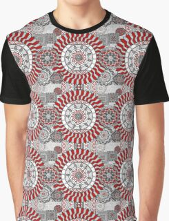 Concentric Collage Graphic T-Shirt