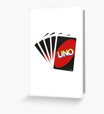 Let's Play Uno Greeting Card