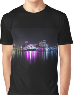 Media City Manchester And Lowrie Centre Graphic T-Shirt