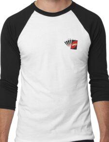 Let's Play Uno Men's Baseball ¾ T-Shirt