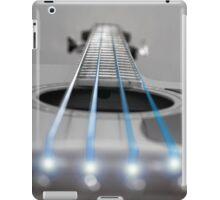 Bass Guitar Blue Strings iPad Case/Skin