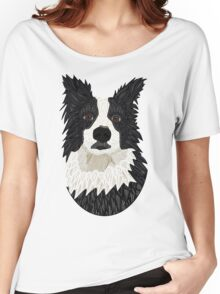 Beautiful Border Collie Women's Relaxed Fit T-Shirt