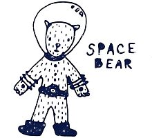 Space Bear by Clara Dziemianko