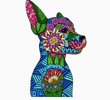 Folk Art Puppy Unisex T-Shirt