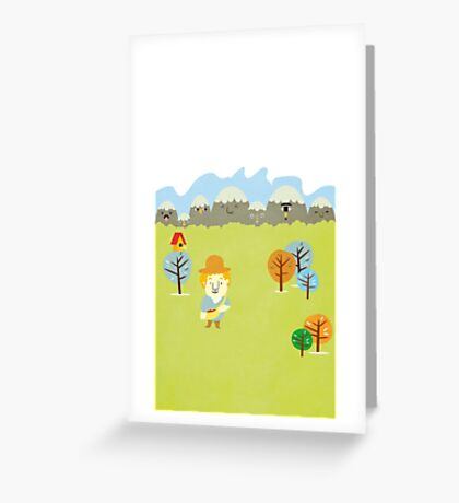 Story book Greeting Card