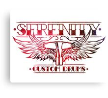 Serenity Logo - Red Nebula Canvas Print