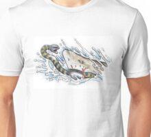 Tiger snake V Grey Nurse Shark Unisex T-Shirt