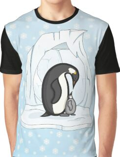 Davin and Annie the Penguins Graphic T-Shirt