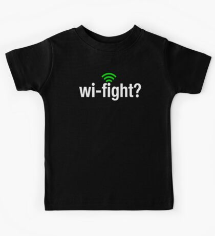 Wi-Fight Kids Tee