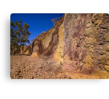 Ochre Pits - Northern Territory Canvas Print