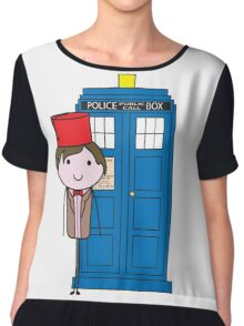 The 11th Doctor Chiffon Top