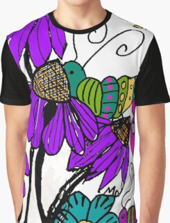 A Spring Fling in Mo's Garden Graphic T-Shirt