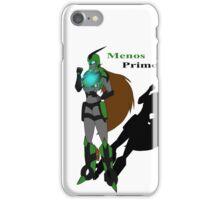 Menos Prime iPhone Case/Skin