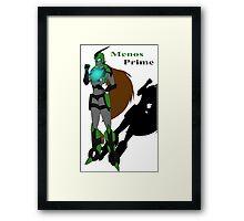 Menos Prime Framed Print