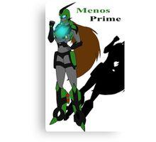 Menos Prime Canvas Print