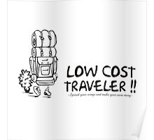 Low Cost Traveler Poster