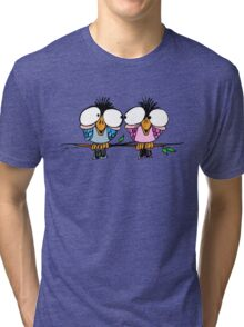 Birds of a Feather Colour Tri-blend T-Shirt