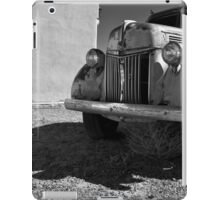 Old Vehicle VII  BW - Ford Truck iPad Case/Skin