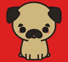 Cute pug One Piece - Short Sleeve
