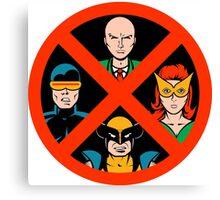 X-Men Legends Canvas Print