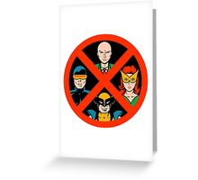 X-Men Legends Greeting Card